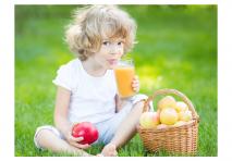 Bambini in vacanza: cosa mangiare?